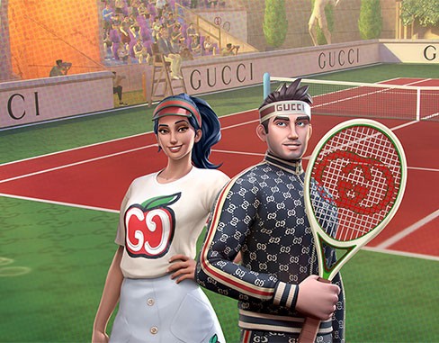 Wildlife and Gucci partner up to bring special content for Tennis Clash fans