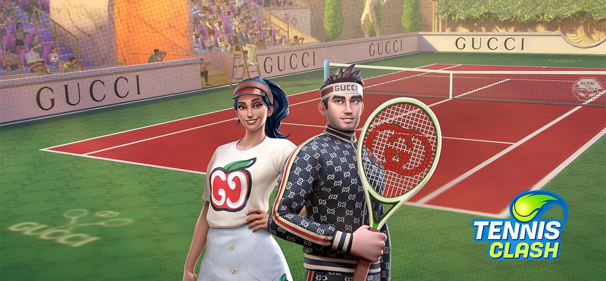 Wildlife e Gucci trazem estilo para o Tennis Clash em nova parceria