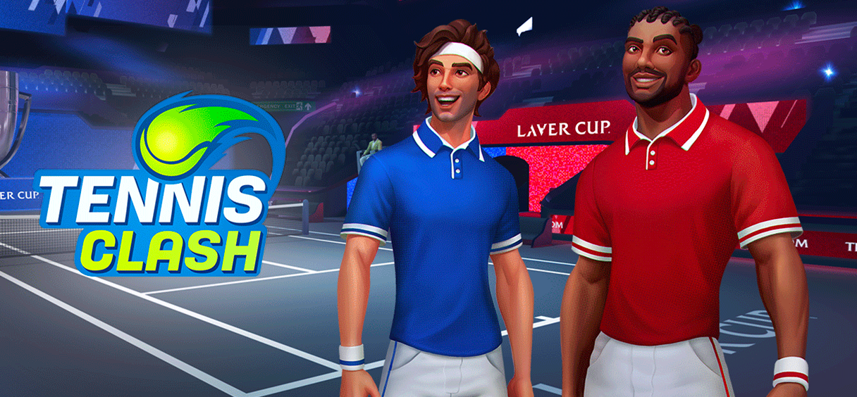 Tennis Clash Takes The Laver Cup Online