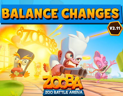 Upcoming Balance Changes –  v2.11