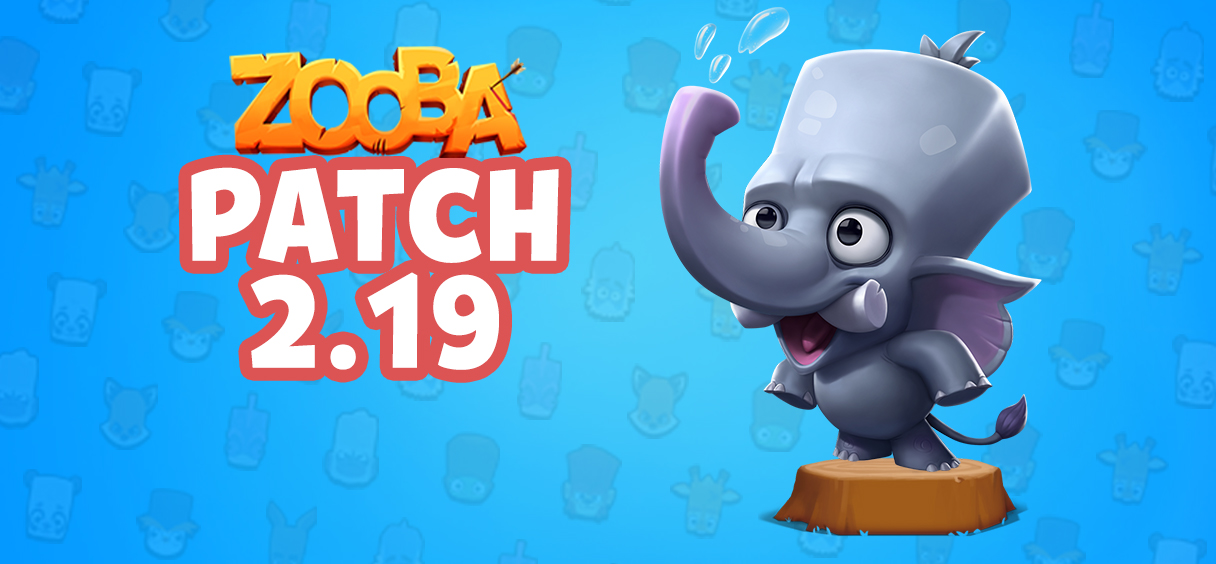 Game Update – v2.19