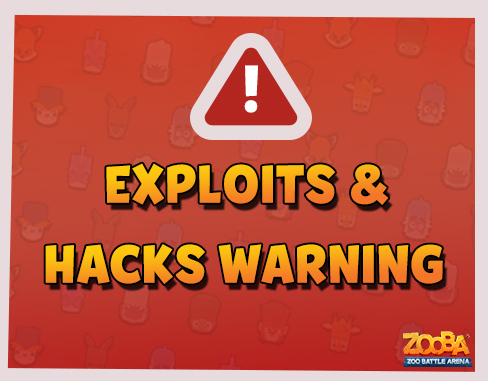 Exploits and Hacks Warning