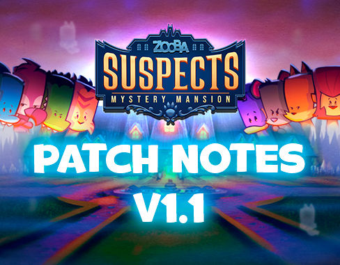 Patch Notes – 1.1