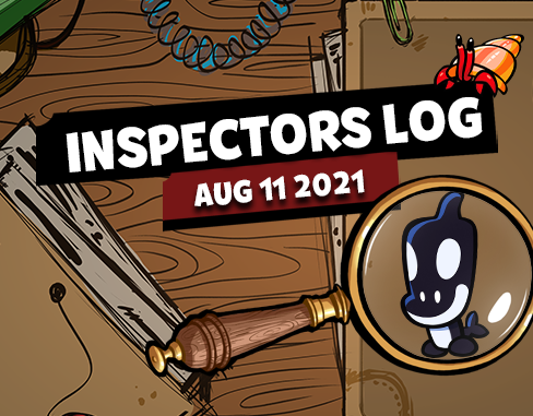Inspectors Log #4 – New Character, New Season & More!