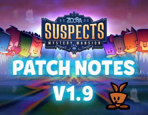 Patch Notes – 1.9