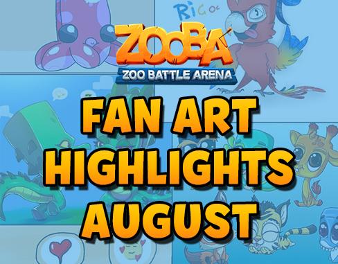 Fan Art Highlights – August