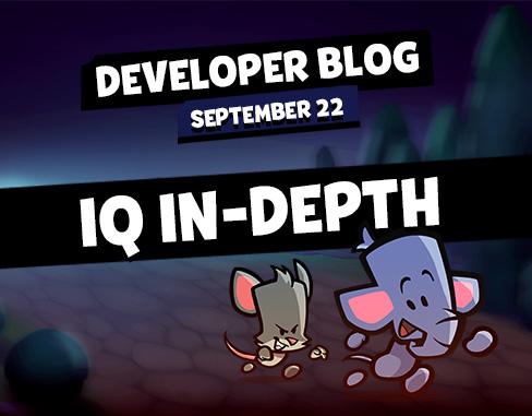 "Developer Blog – ""Examining IQ in Depth"""