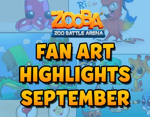 Fan Art Highlights – September