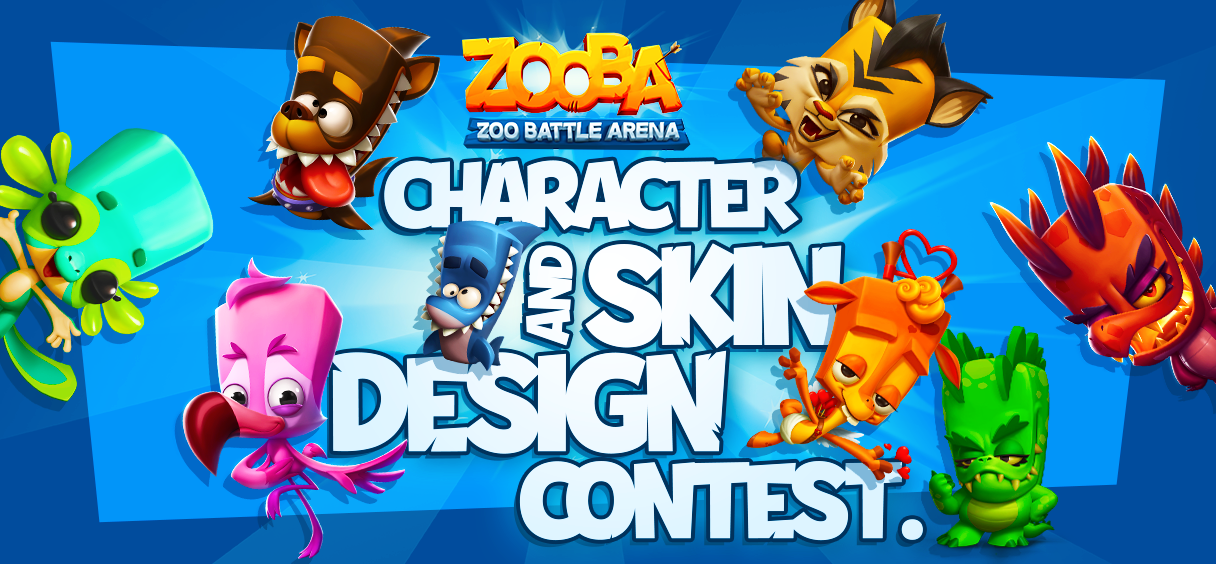 Character and Skin Design Contest Winners!